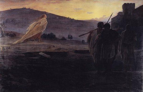 Николай Ге. Вестники Воскресения. 1867