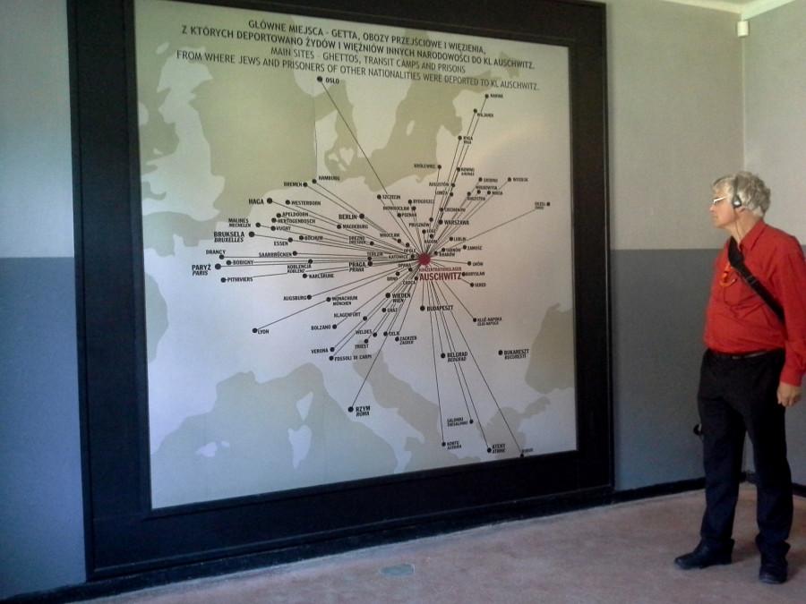 География узников Аушвица - вся Европа