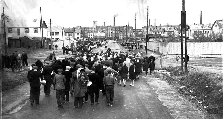 Электросталь. Конец 1940-х (?). Фото: Архив Тимофея Шарамова