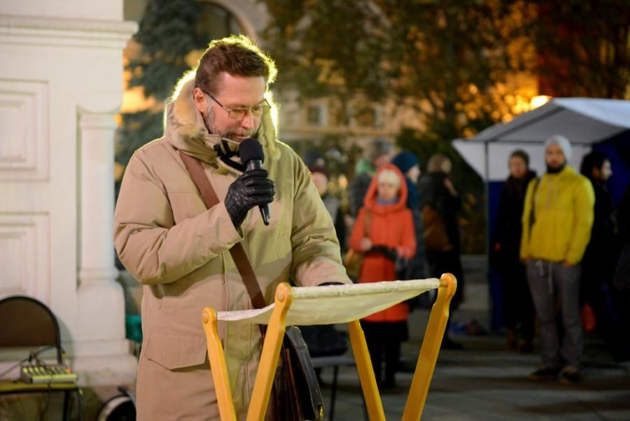 Петровка, имена читает Дмитрий Гасак