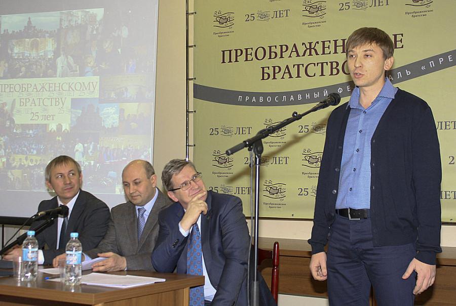 Слева направо: Андрей Белоусов, Олег Ермолаев, Владимир Лавренов, Алексей Евстигнеев