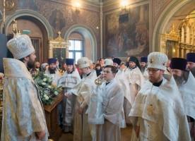 В московском храме Воскресения Словущего в Брюсовом переулке почтили память ...