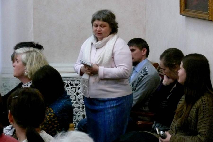 Евгения Парфенова, член Свято-Елизаветинского малого братства