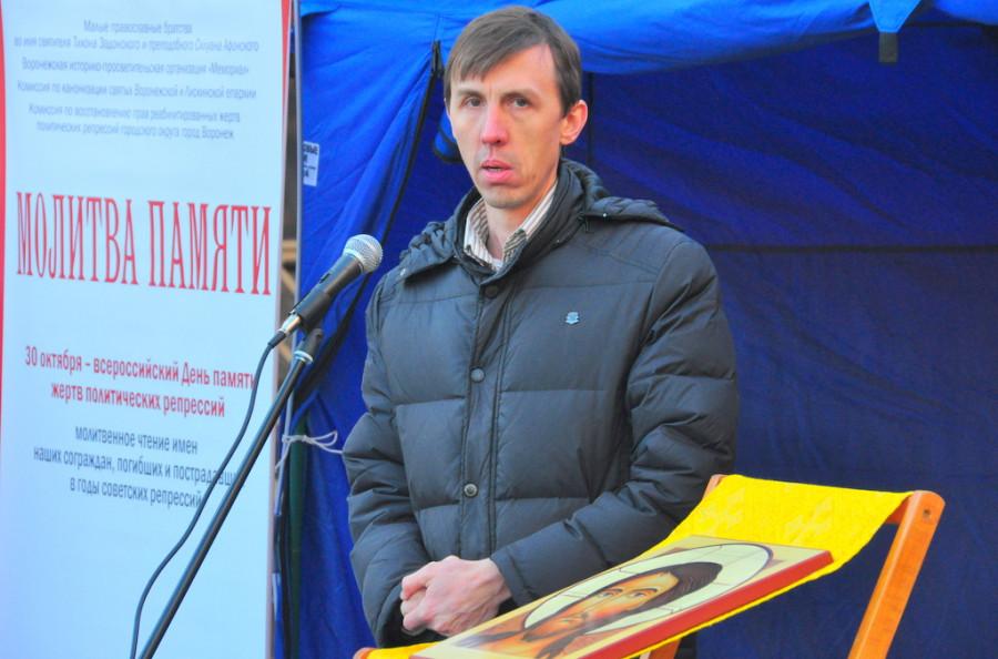 Максим Пудовиков, председатель братства во имя Силуана Афонского
