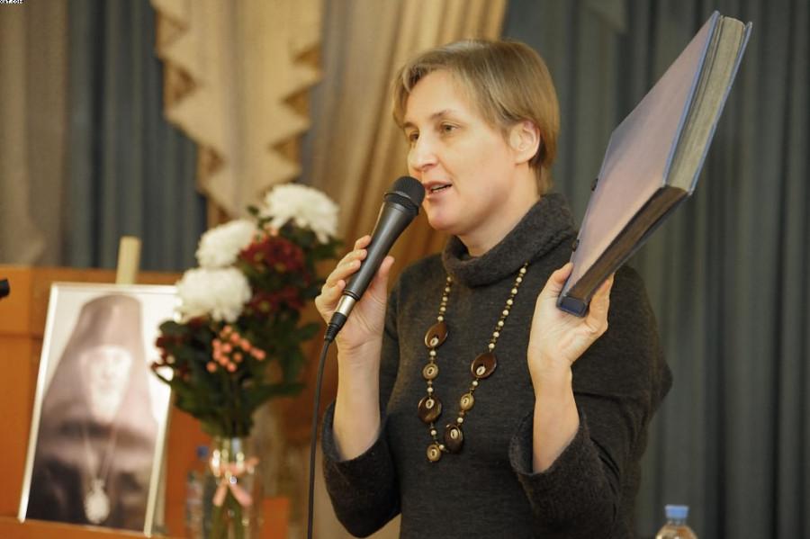 Ученый секретарь СФИ Юлия Балакшина