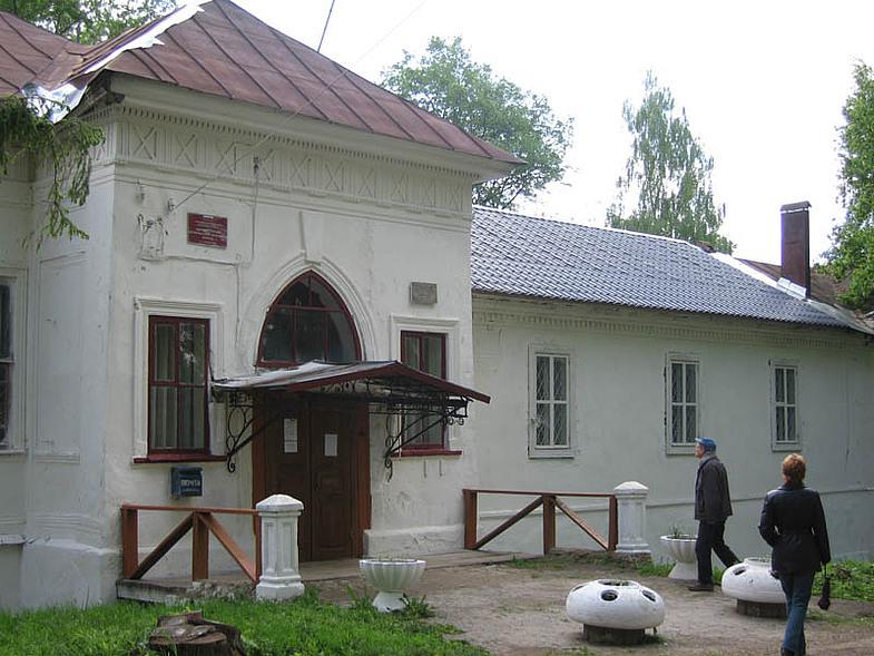 Дом, в котором жил Алексей Степанович Хомяков