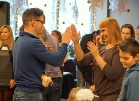 Новогодняя гирлянда в Твери