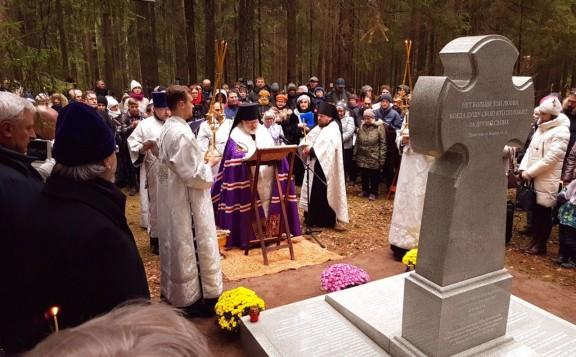 First-Ever Monument to Orthodox Brotherhoods is Unveiled in St. Petersburg