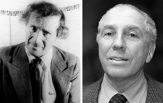 М. Шагал и С. Юрский