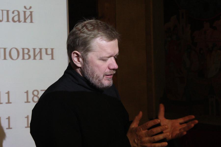 Ведущий встречи прот. Александр Шабанов
