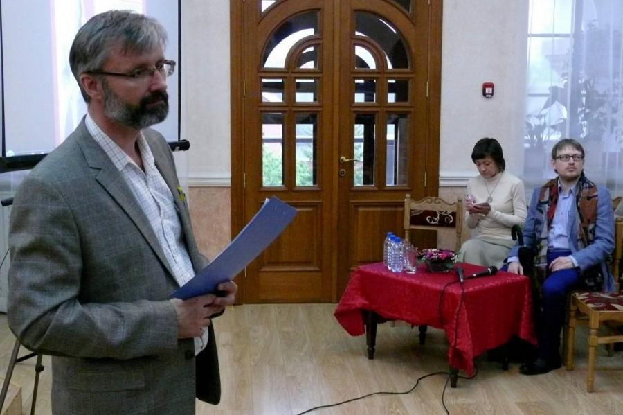 Олег Глаголев, председатель Свято-Елизаветинского малого братства. Екатеринбург