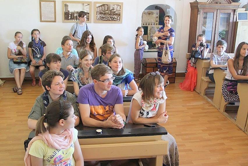 Урок истории Древней Руси, Кремль, г. Суздаль