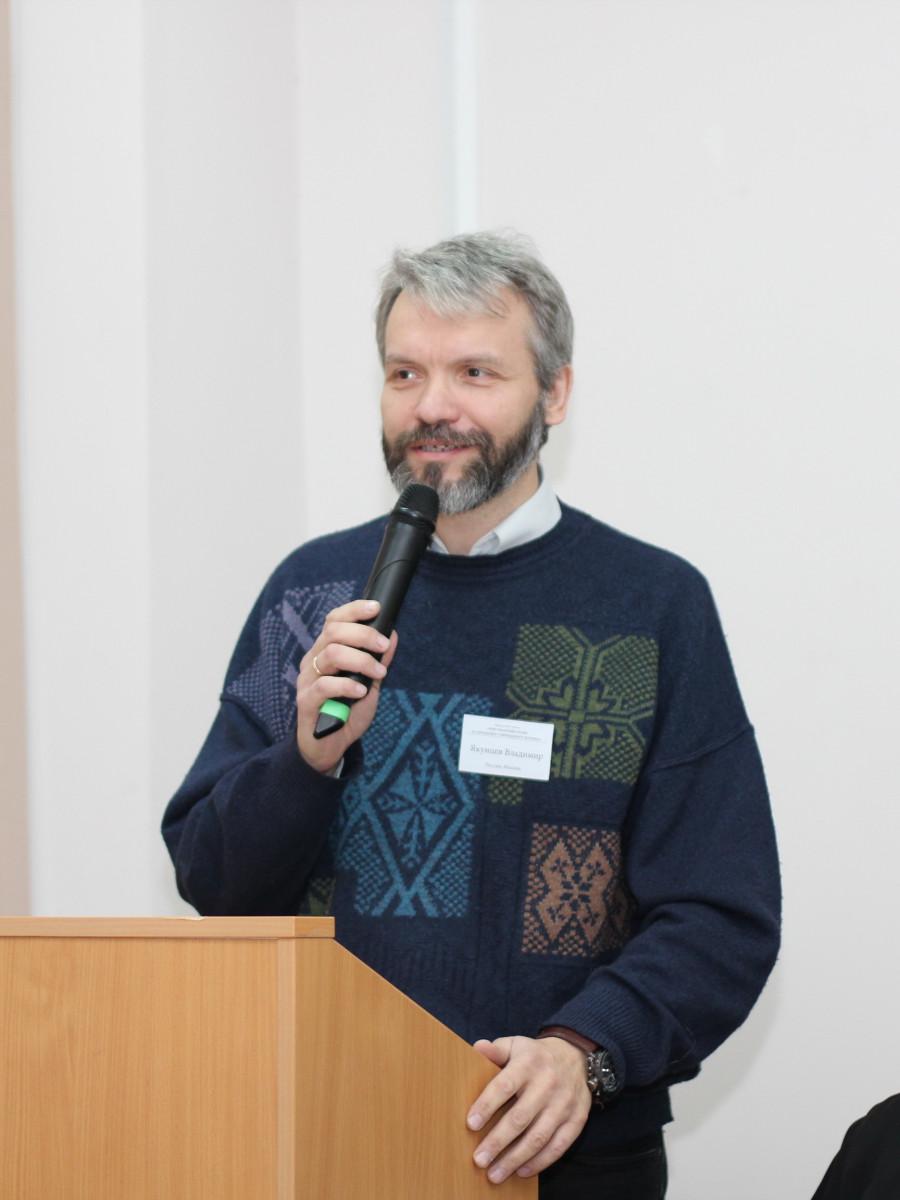 Старший преподаватель кафедры миссиологии, катехетики и гомелетики СФИ Владимир Якунцев