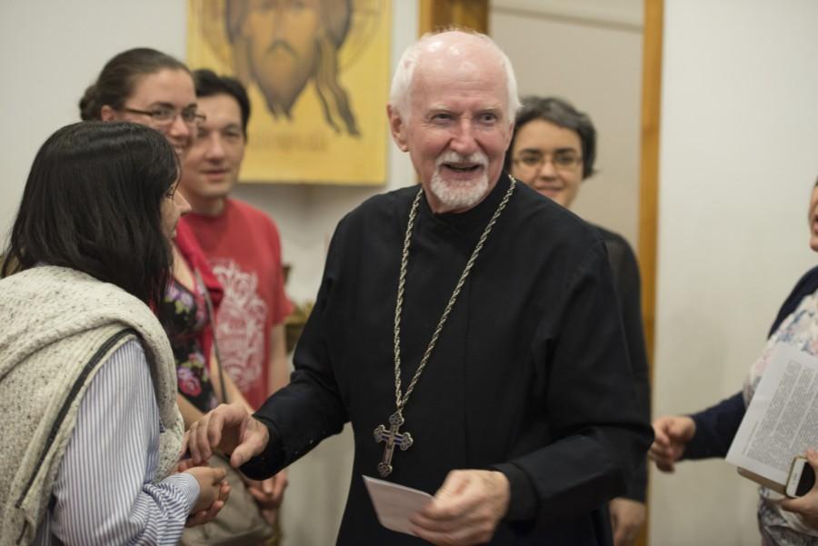 Протоиерей Джон Эриксон, почётный профессор Свято-Владимирской семинарии