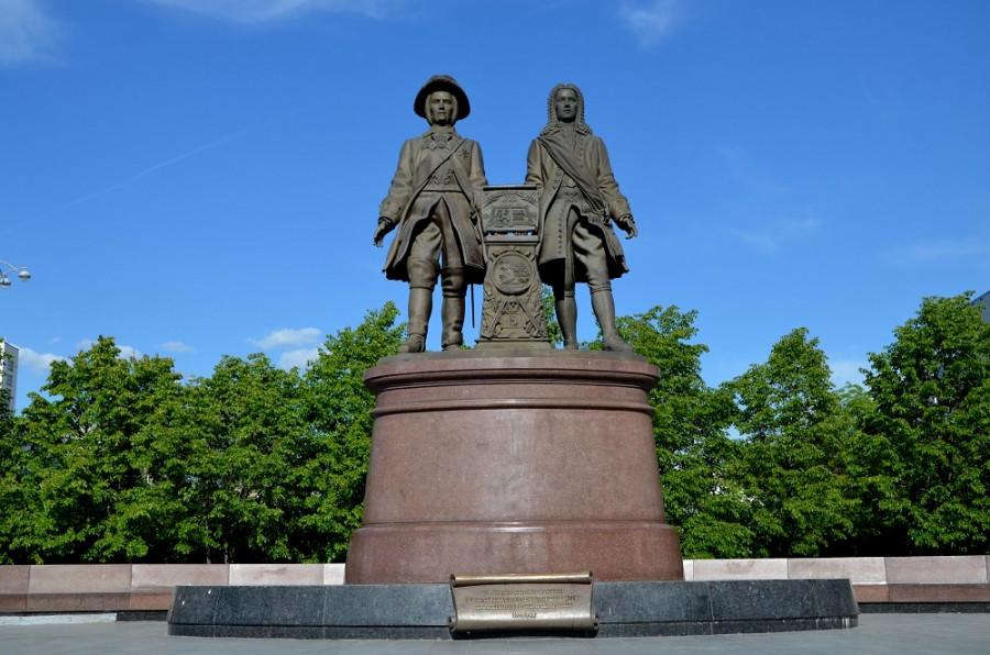 Памятник Василию Татищеву и Вильяму де Геннину