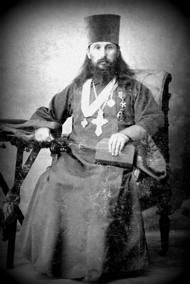 Священник Михаил Попов