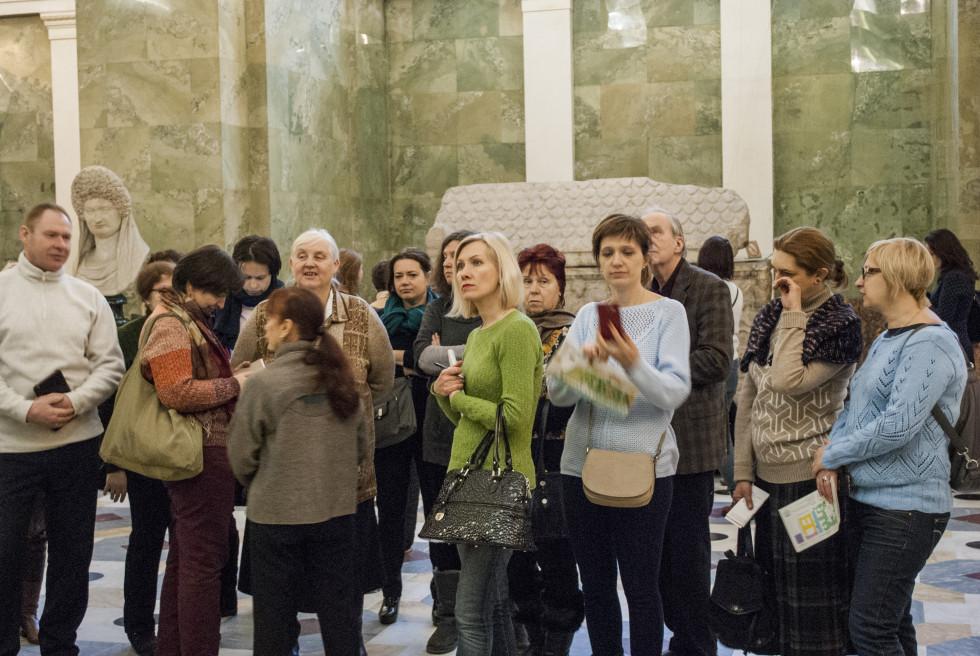 Эрмитаж. Экскурсия Людмилы Ивановны Давыдовой по залам античной скульптуры
