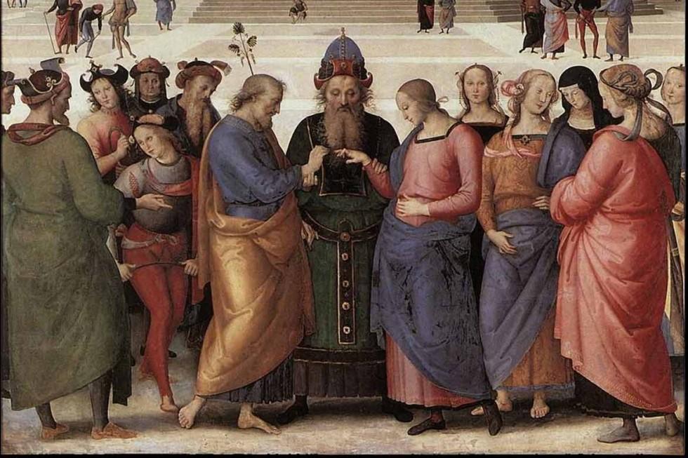 Пьетро Перуджино. Обручение Девы Марии, 1500-1504 гг.