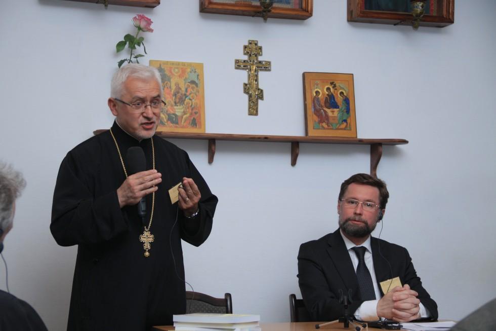 Приветственное слово доктора священника Иоанна Мирча Елчу