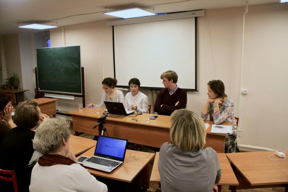 Доклад Анны Сафроновой о Христианском содружестве учащейся молодежи
