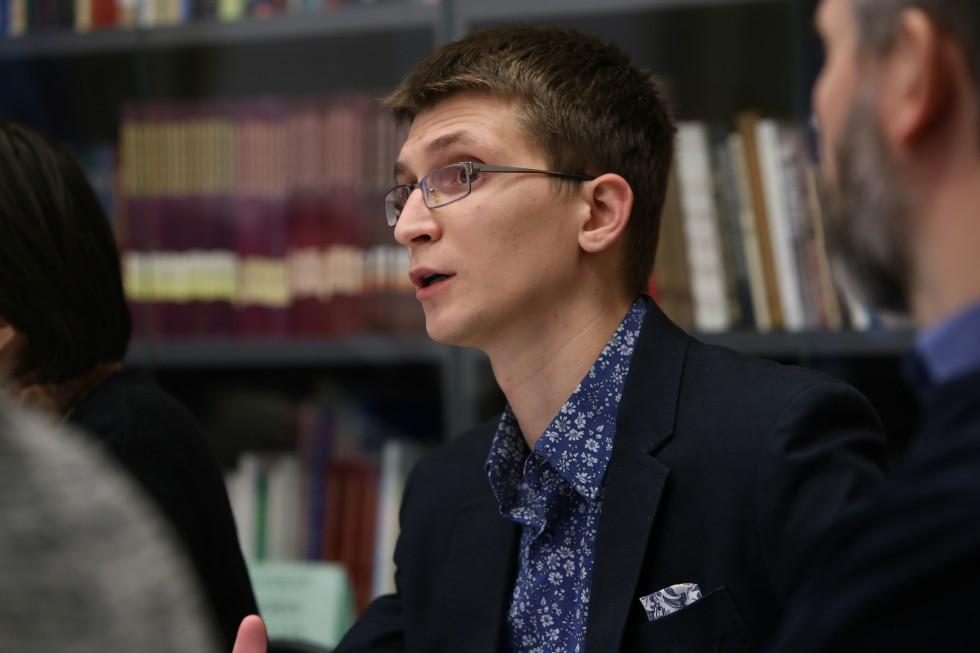 Преподаватель НИУ ВШЭ Максим Игоревич Богачев