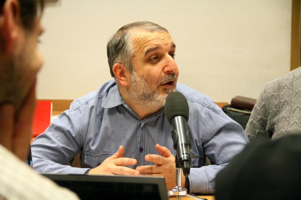 Давид Гзгзян,заведующий кафедрой богословских дисциплин и литургики СФИ