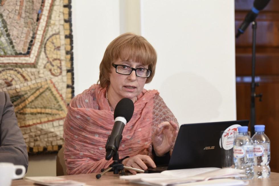Лидия Крошкина, специалист кафедры истории и теории культуры РГГУ, старший преподаватель СФИ