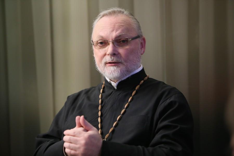Ректор СФИ священник Георгий Кочетков