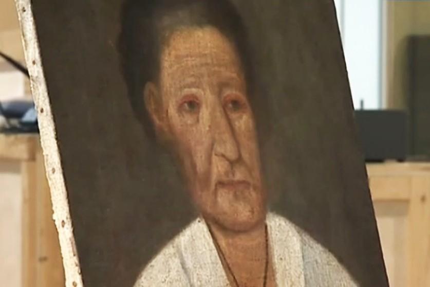 Предположительно прижизненный портрет Ксении Петербургской. Эрмитаж. Санкт-Петербург