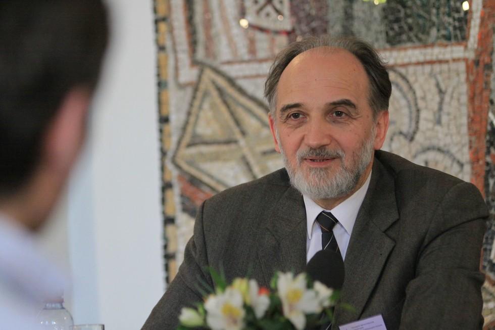 Александр Копировский, ученый секретарь СФИ, катехизатор