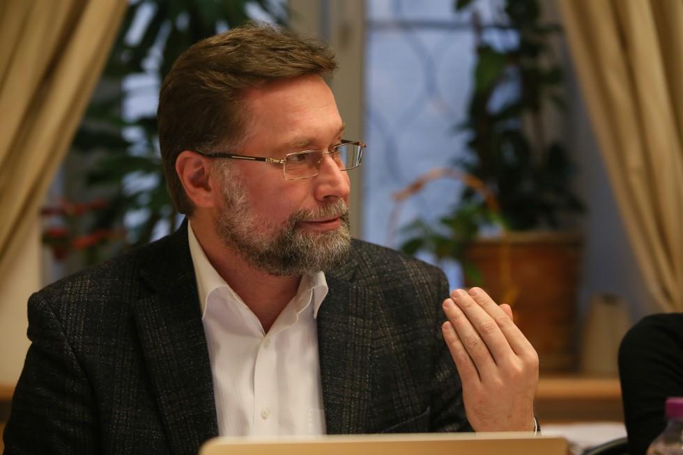 Дмитрий Сергеевич Гасак, первый проректор СФИ, преподаватель экклезиологии