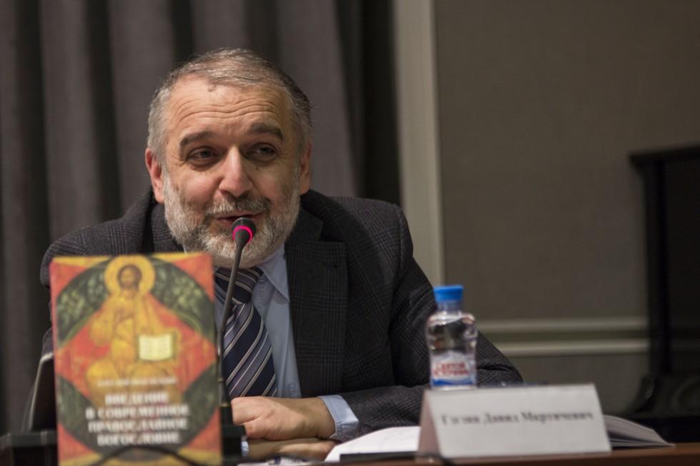 Давид Гзгзян, профессор, заведующий кафедрой богословских дисциплин и литургики СФИ, член Межсоборного присутствия Русской православной церкви