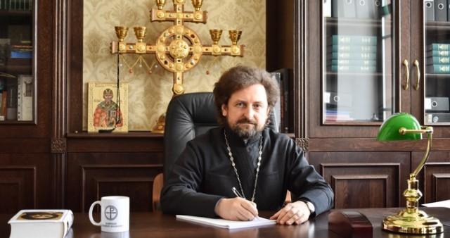 Приветствие ректора Минской духовной академии