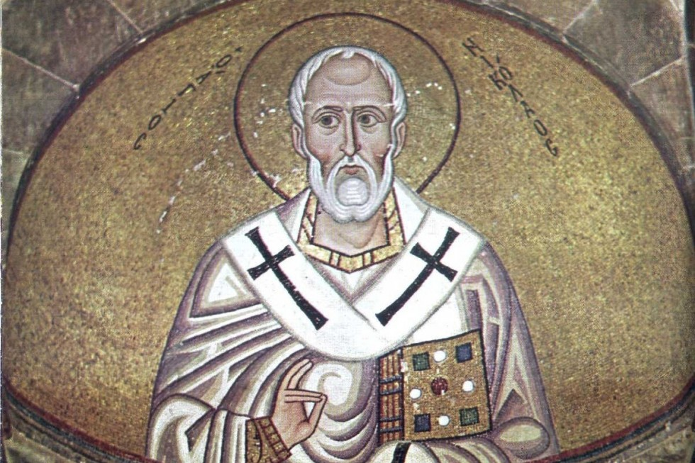 Изображение воспроизводится по изданию: Lazarides P. The monastery of Hosios Lukas. Athens: Hannibal, 1987.