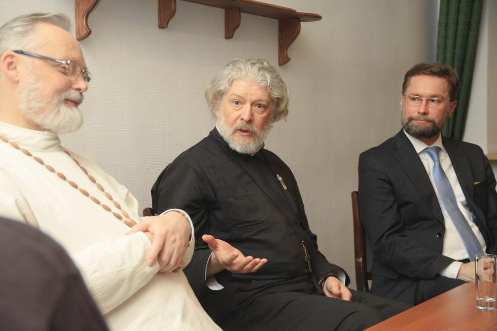 Священник Георгий Кочетков, протоиерей Алексий Уминский, Дмитрий Гасак