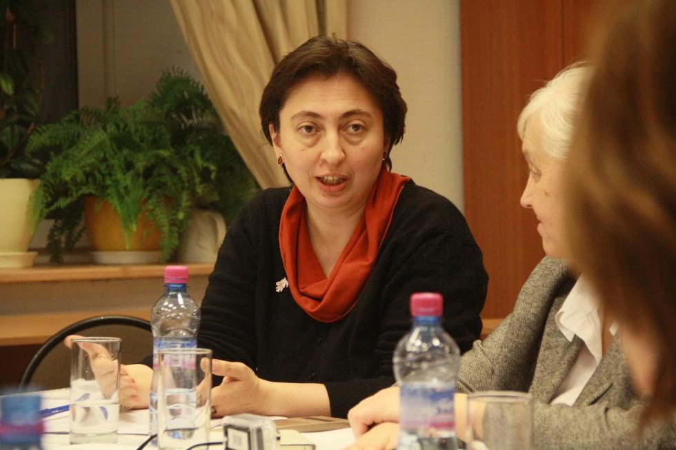 Анна Алиева, заместитель декана факультета религиоведения СФИ