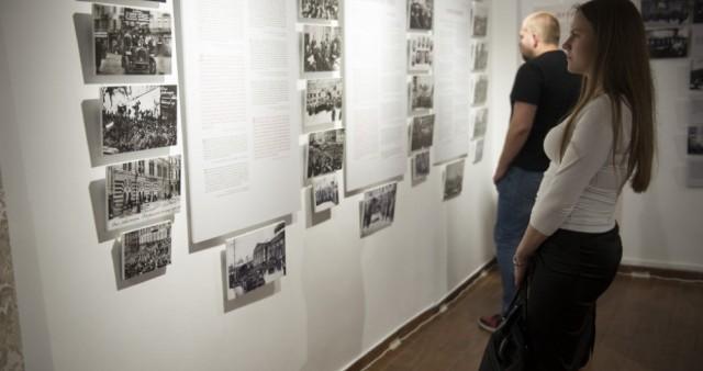 Воронежцам показали реакцию людей на революцию