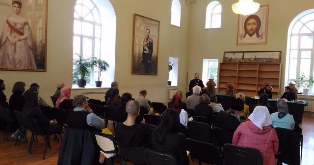 Студенты СФИ из Екатеринбурга приняли участие в работе епархиального миссионерского съезда