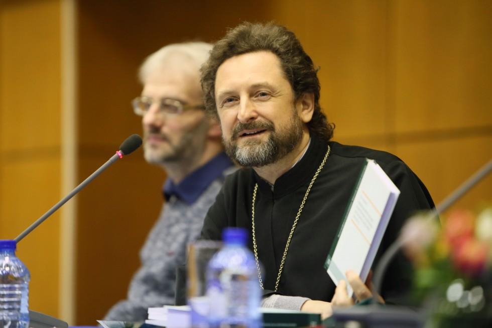 Ректор Минской православной духовной академии архимандрит Сергий (Акимов)