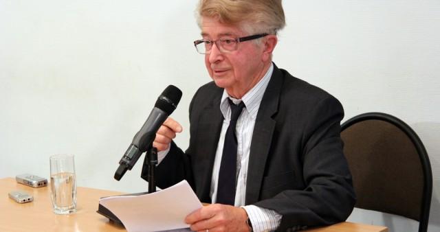 Профессор Жорж Нива прочитал лекцию о христианской культуре на открытии 25-го учебного года в СФИ
