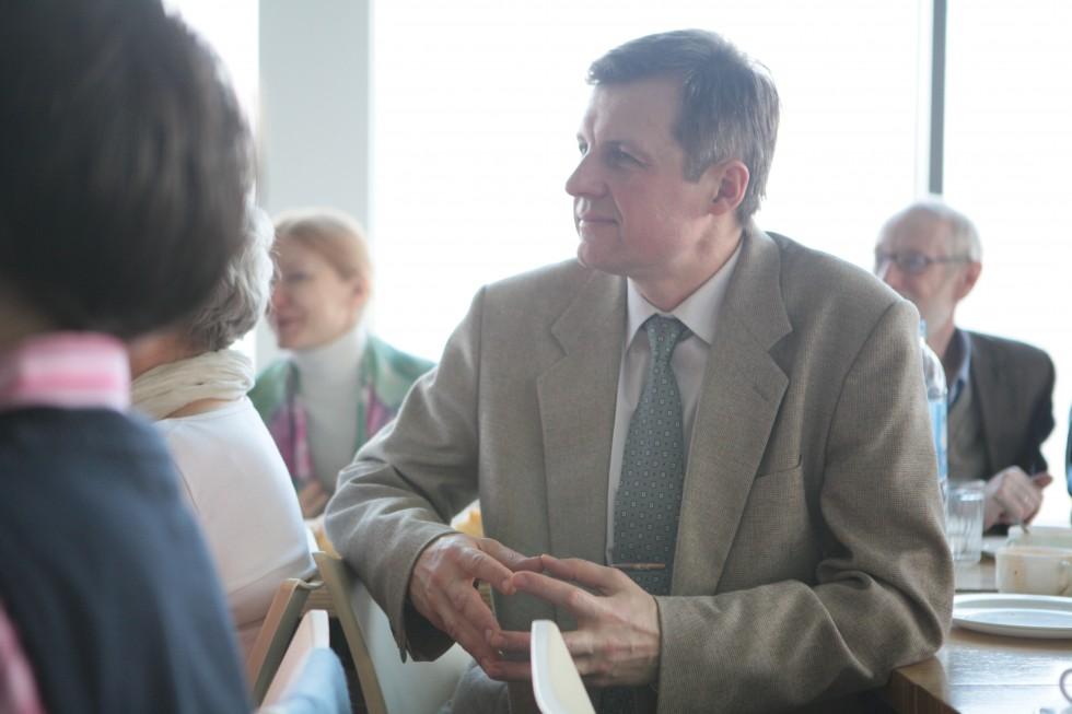 Дмитрий Гориславский окончил богословский факультет несколько лет назад и сегодня работает в институте