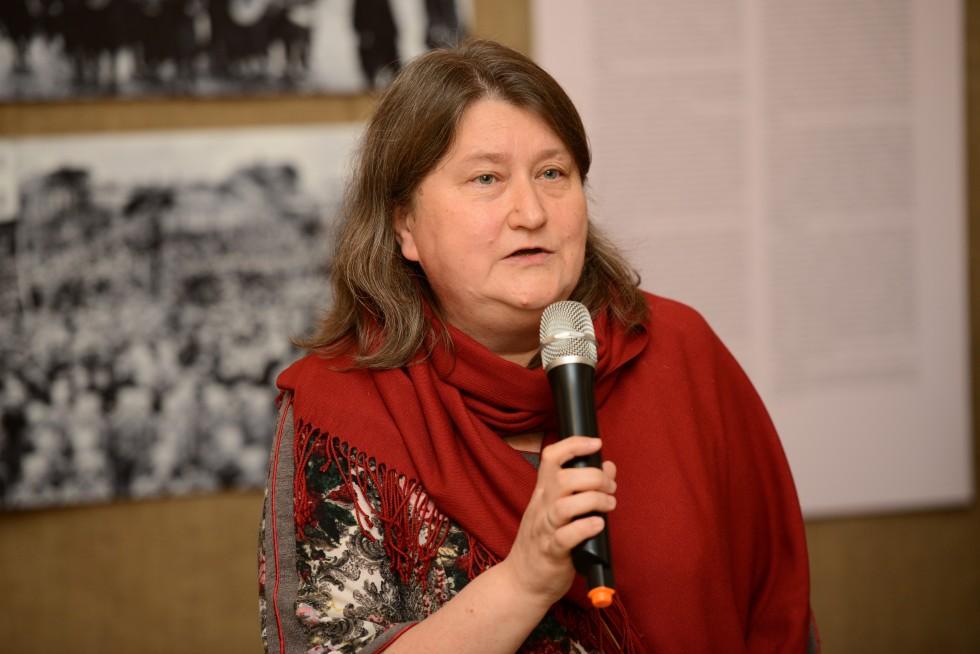 Светлана Чукавина, руководитель авторской группы выставки, заведующая музейно-выставочным отделом КПЦ «Преображение», старший преподаватель СФИ
