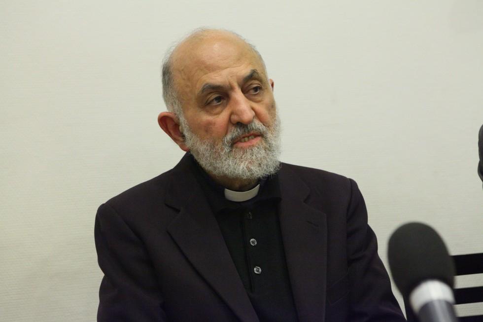 Священник Эдвард Фарруджа, SJ, профессор факультета Восточных церквей Папского Восточного института