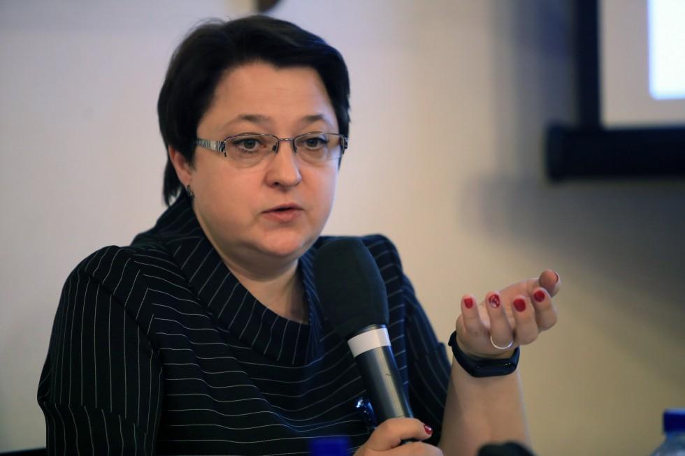 Заведующий кафедрой современных технологий довузовского образования ГрГУ Светлана Силова