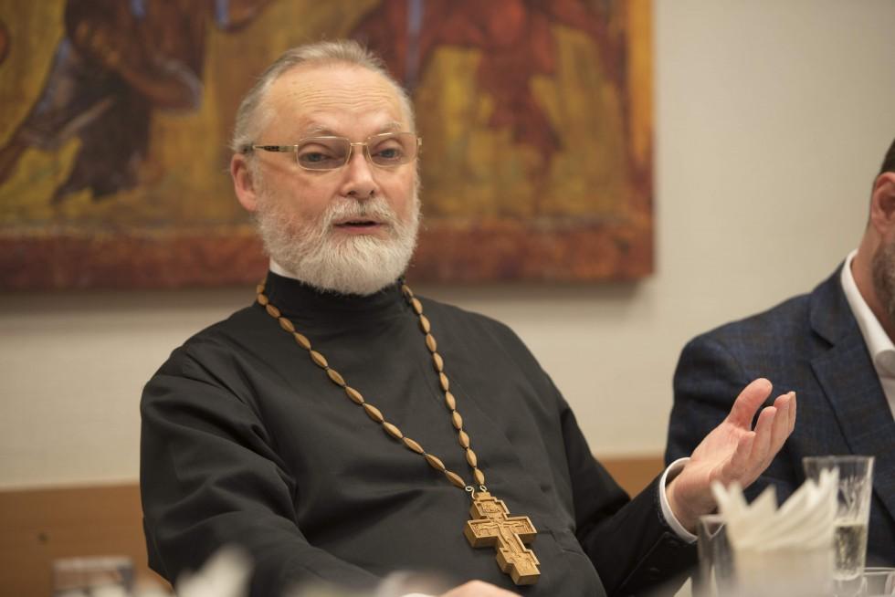 Профессор священник Георгий Кочетков, магистр (кандидат) богословия, ректор СФИ