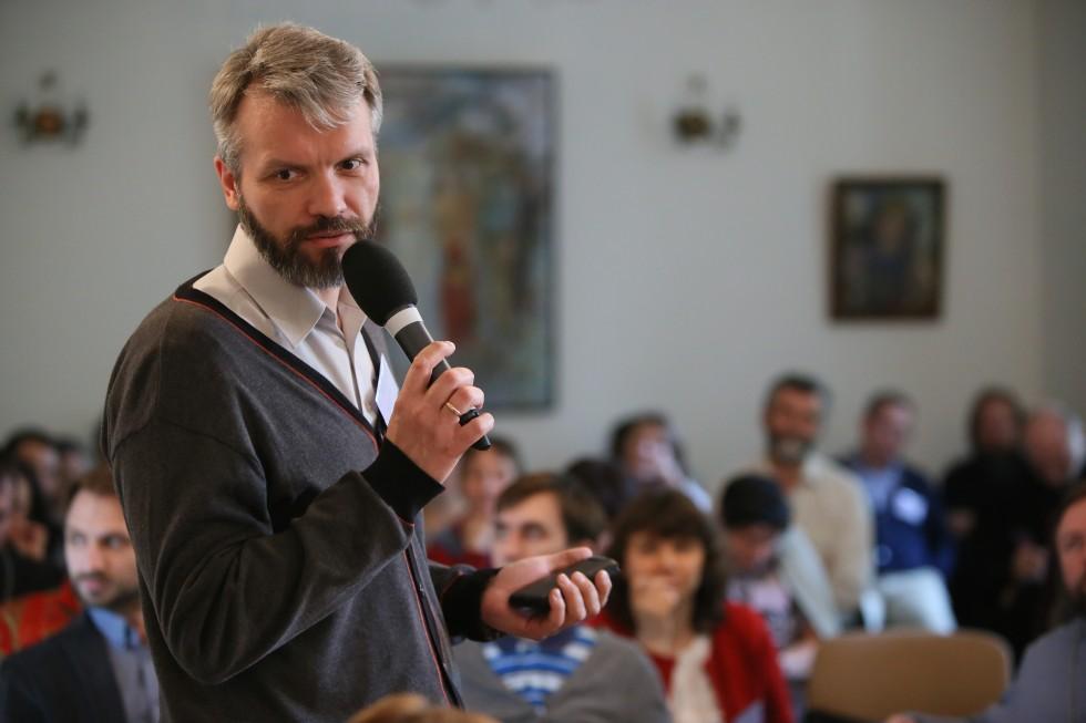 Владимир Якунцев, сотрудник Научно-методического центра по миссии и катехизации, старший преподаватель СФИ