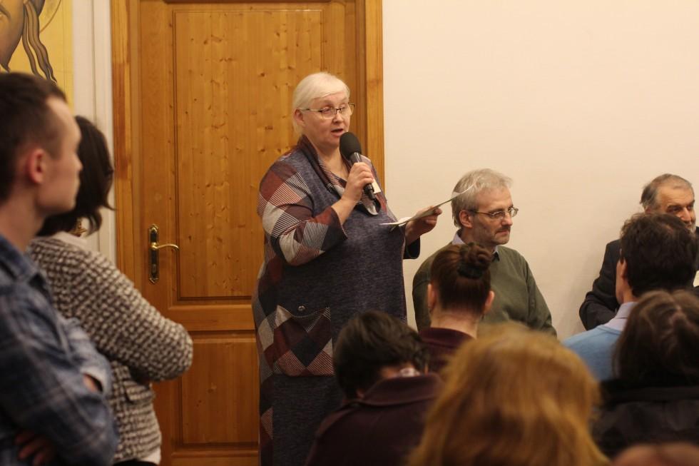 Маргарита Шилкина, заведующая кафедрой религиоведения, декан факультета религиоведения СФИ