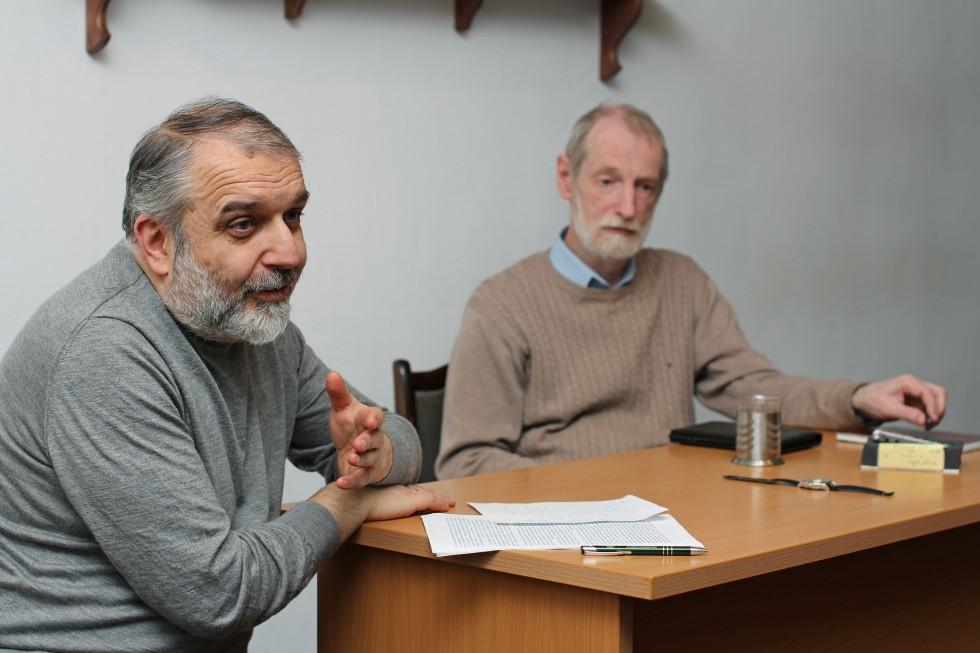 Давид Гзгзян, кандидат филологических наук, заведующий кафедрой богословских дисциплин и литургики СФИ