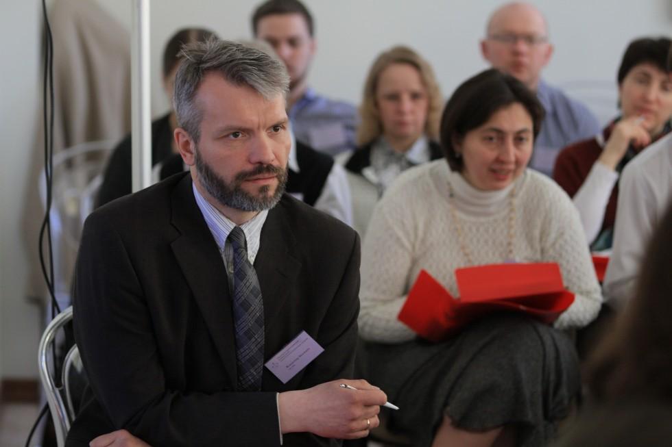 Владимир Якунцев, председатель оргкомитета конференции, сотрудник Научно-методического центра по миссии и катехизации при СФИ