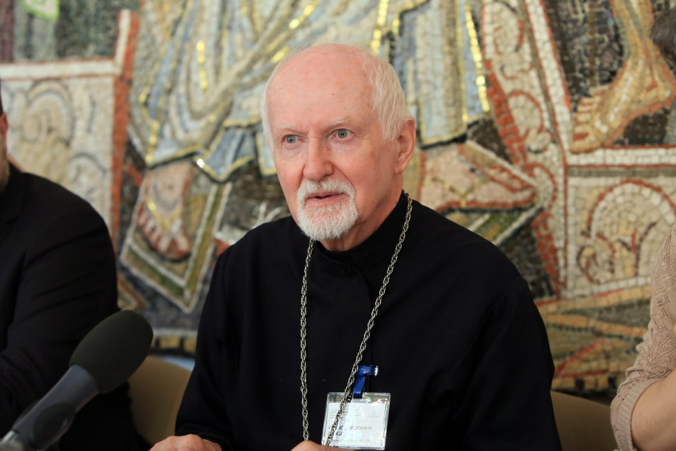 Fr. John Erickson, Professor Emeritus of St. Vladimir's Orthodox Seminary in New York